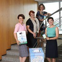 Echipa de comunicare a Patrulei de Reciclare: Alexandra Arnăutu, Andreea Idriceanu, Ada Lungu și Gabriela Tranciuc